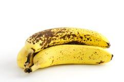 Sobre bananas maduras Fotografia de Stock Royalty Free