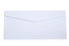 Sobre blanco en blanco foto de archivo libre de regalías