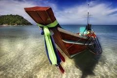 Sobre boat-2 tailandés Imagen de archivo libre de regalías