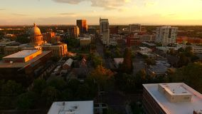 Sobre Boise Idaho State Capital Buidling céntrico céntrico almacen de metraje de vídeo
