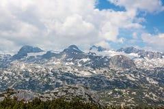 Sobre Dachstein Foto de Stock Royalty Free