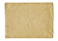 Sobre de envío viejo Imagen de archivo libre de regalías
