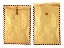 Sobre de la vendimia Fotografía de archivo libre de regalías