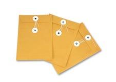 Sobre de papel Imagen de archivo libre de regalías