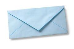 Sobre del azul de la vendimia Fotos de archivo libres de regalías