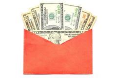 Sobre del chino del dinero Imagen de archivo