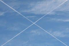Sobre del cielo Fotos de archivo libres de regalías