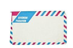 Sobre del correo aéreo Foto de archivo