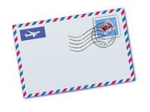 Sobre del correo aéreo stock de ilustración