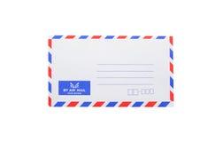 Sobre del correo aéreo del banco Imagen de archivo libre de regalías