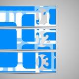 Sobre del vector para su diseño Foto de archivo libre de regalías