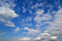 Sobre el cielo Foto de archivo