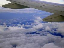 Sobre el cielo Foto de archivo libre de regalías