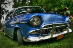 Sobre el coche cubano retro Imagen de archivo libre de regalías