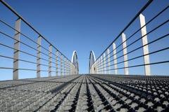 Sobre el puente Imagen de archivo libre de regalías