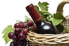Sobre el vino Imagen de archivo libre de regalías