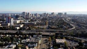 Sobre a infraestrutura da estrada de Oakland Califórnia vídeos de arquivo