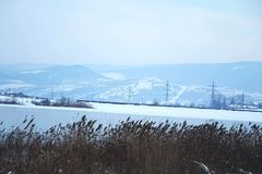 Sobre invierno fotografía de archivo libre de regalías