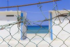 Sobre la cerca Foto de archivo libre de regalías