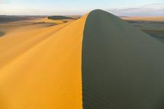 Sobre la duna de arena Fotos de archivo