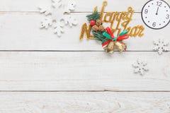 Sobre la imagen aérea de la visión del concepto 2018 del fondo de la Feliz Año Nuevo de las decoraciones Fotos de archivo