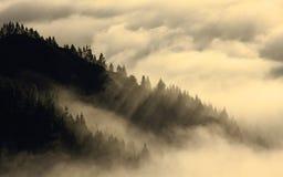 Sobre la parte 2 del cielo Foto de archivo libre de regalías