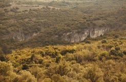 Sobre las colinas Foto de archivo