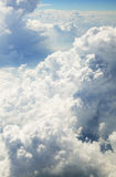 Sobre las nubes Fotografía de archivo