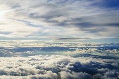 Sobre las nubes Imagen de archivo