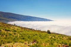 Sobre las nubes, Tenerife Fotos de archivo libres de regalías