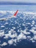 Sobre los cielos Imagen de archivo libre de regalías