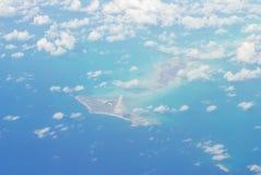 Sobre los 37,000ft Foto de archivo libre de regalías