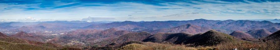 Sobre a montanha Fotografia de Stock