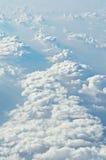 Sobre nuvens Fotografia de Stock Royalty Free