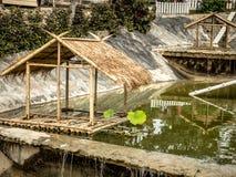 Sobre o bungalow da água Imagem de Stock Royalty Free