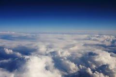 Sobre o céu Foto de Stock