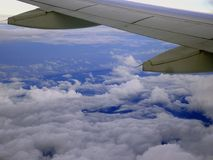 Sobre o céu Foto de Stock Royalty Free