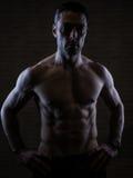 Sobre o homem 40 com grande corpo Fotos de Stock