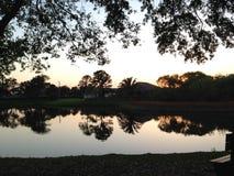 Sobre o lago fotos de stock royalty free
