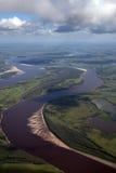 Sobre o rio Fotografia de Stock Royalty Free