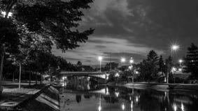 Sobre o rio dos begumes Imagem de Stock