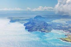 Sobre Oahu foto de archivo