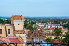 Sobre os telhados de Trinidad Imagens de Stock Royalty Free