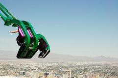 Sobre paseo de la x-corriente de Las Vegas foto de archivo libre de regalías