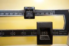 Sobre peso Imagen de archivo libre de regalías
