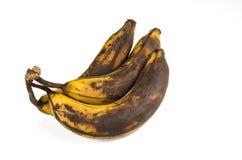 Sobre plátanos maduros Imagenes de archivo