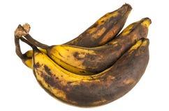 Sobre plátanos maduros Fotos de archivo