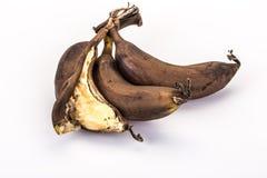 Sobre plátanos (putrefactos) maduros Foto de archivo libre de regalías