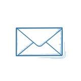 Sobre postal Imagenes de archivo