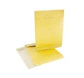 Sobre postal reutilizado Fotografía de archivo